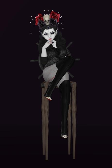 visibly goth