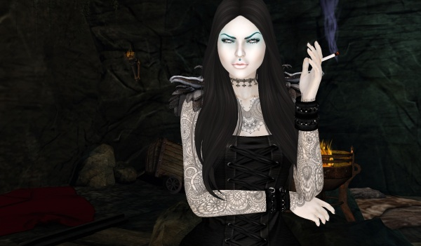 2nd light evil queen in cave